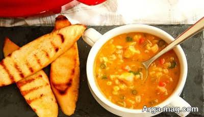 سوپ جو لذیذ
