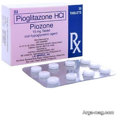 موارد احتیاط و منع مصرف قرص پیوگلیتازون