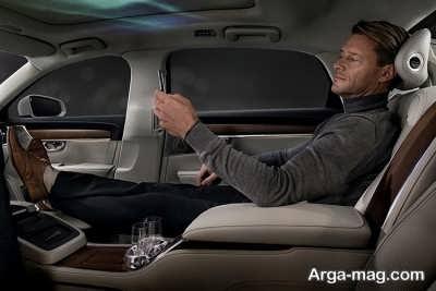 s 90 4 - رونمایی از خودرو مفهومی سوپر لوکس ولوو S90 امبینس