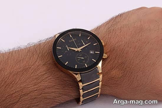 ساعت دسته استیل خاص