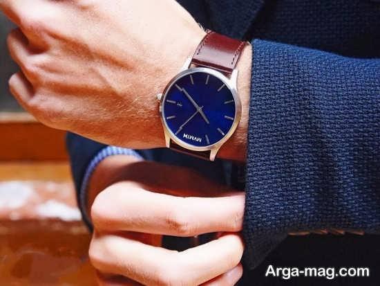 مدل ساعت مردانه ساده و شیک