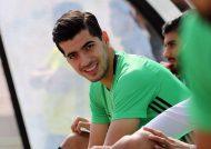 حضور مادر سعید عزت اللهی در اردوی تیم ملی
