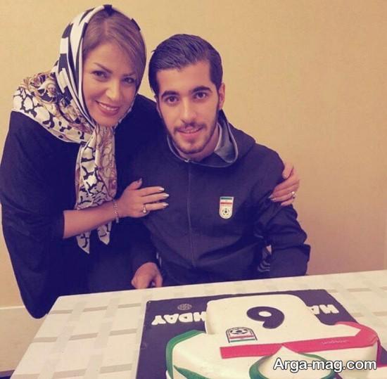 سعید عزت اللهی و مادرش