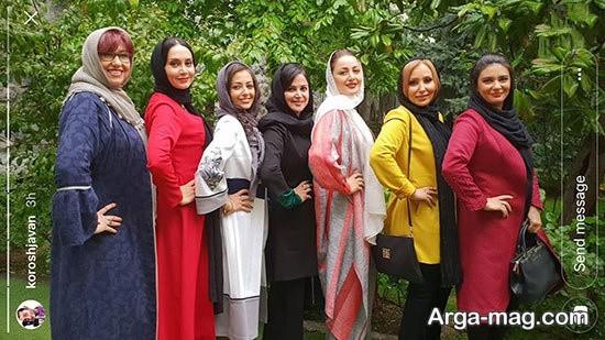 ستاره های سینما و تلویزیون ایران