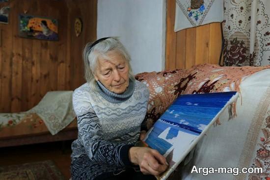 sibri 1 - پیرزنی ۷۶ ساله ساکن سیبری است + عکس