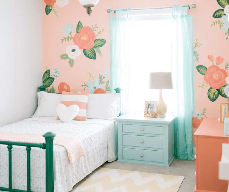 Paintings For Little Girls Room