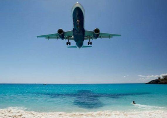 مسیرهای دیدنی برای تیک آف هواپیما