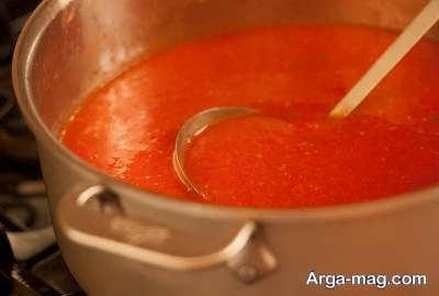 دستور پخت سوپ گوجه فرنگی در منزل