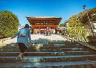 عکس های خانم توریست در ژاپن