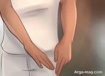 شستن دست راست
