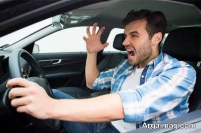 عصبانیت به هنگام رانندگی