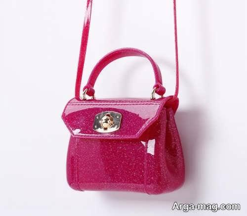 کیف دستی زیبا و صورتی بچه گانه