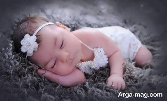 تصویر پروفایل زیبای نوزاد