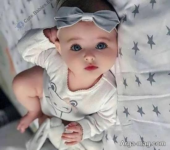 تصویر پروفایل نوزاد جذاب