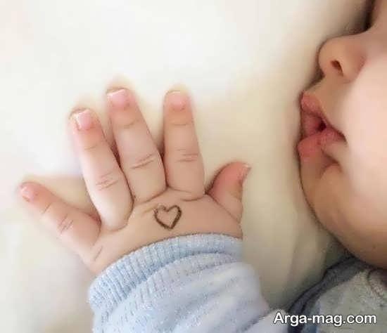 تصویر پروفایل نوزاد