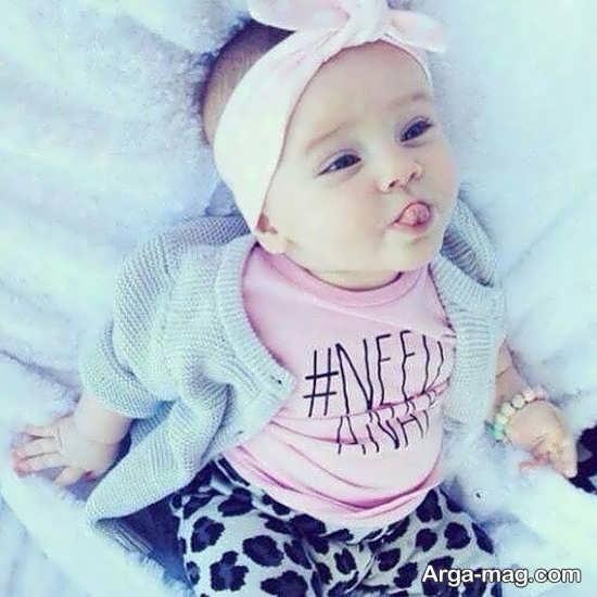 عکس پروفایل نوزاد زیبا