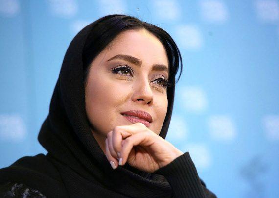 بهاره کیان افشار و بازیگران سریال گلشیفته در یک قاب