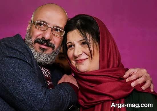 عکس از امیر جعفری در کنار ریما رامین فر