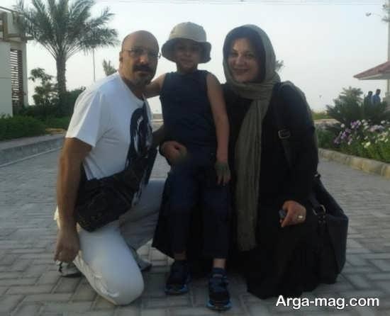 عکس جدید از خانواده آقای امیر جعفری