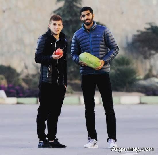 فرشاد احمدزاده و عکس جدید او