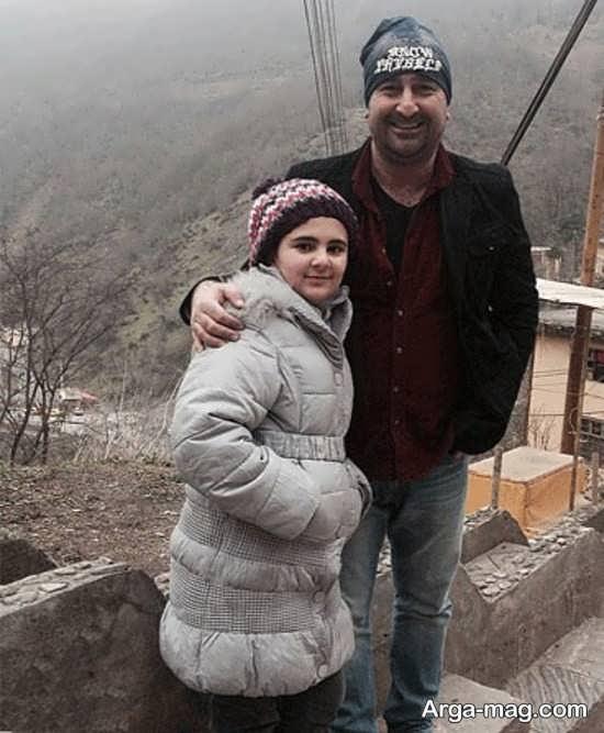 مهران احمدی و دختر زیبایش