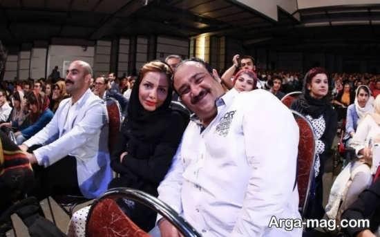 مهران غفوریان و عکس زن او