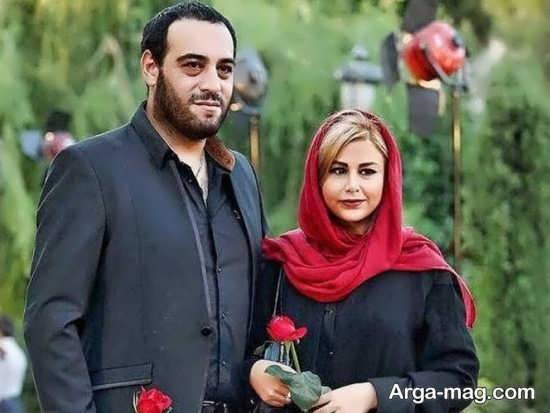 عکس متفاوت یاسمینا باهر و همسرش