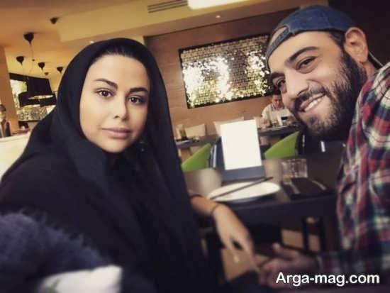 عکس دیدنی یاسمینا باهر و همسرش