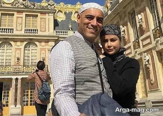 یاسمینا باهر و امیریل ارجمند در خارج