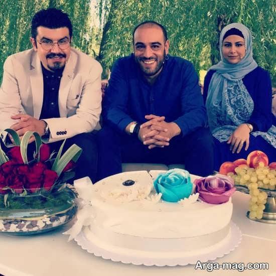 یاسمینا باهر و شوهرش در برنامه تلویزیونی