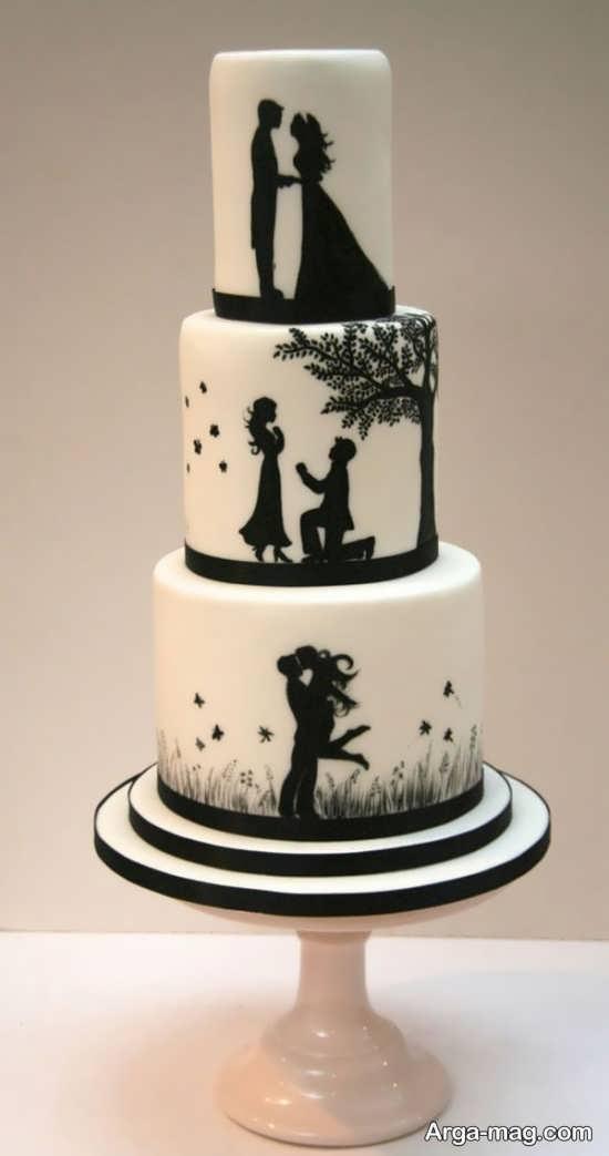 تزیین کیک عروس با روش های فانتزی و زیبا