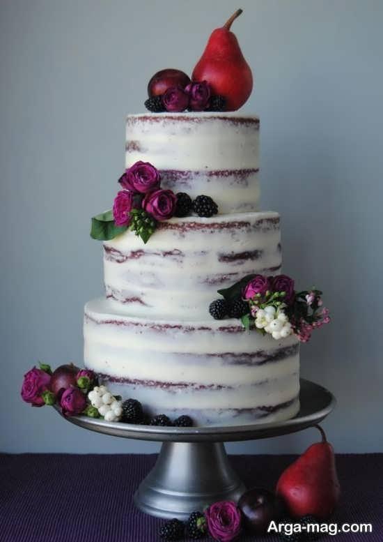تزیین زیبا و خلاقانه کیک عروسی