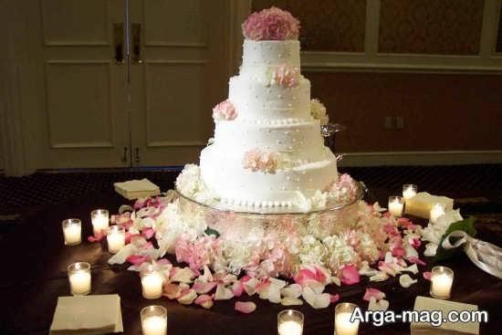 تزیین کیک برای عروسی