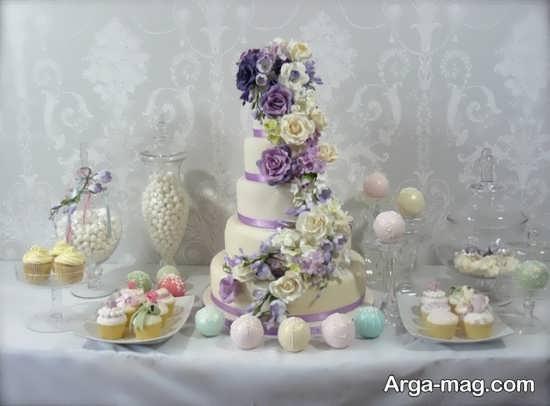 تزیین زیبا کیک