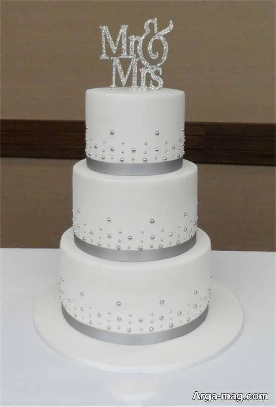 تزیین زیبا کیک برای عروسی