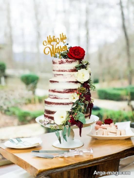 تزیین کیک عروس