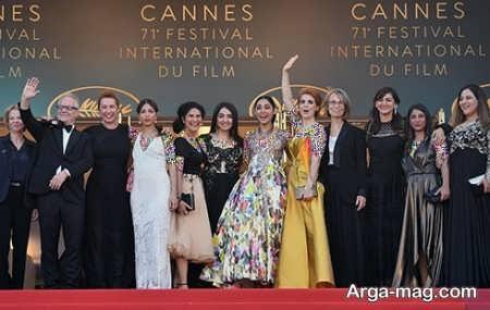 نحوه پوشش بازیگران ایرانی در جشنواره فیلم کن