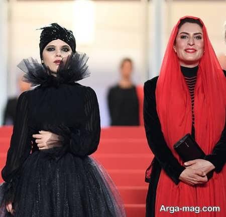 مدل لباس بهناز جعفری و مرضیه رضایی در جشنواره فیلم کن