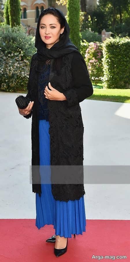 مدل مانتو نیکی کریمی در جشنواره فیلم کن