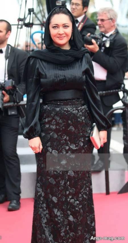 مدل لباس شیک نیکی کریمی در جشنواره فیلم کن