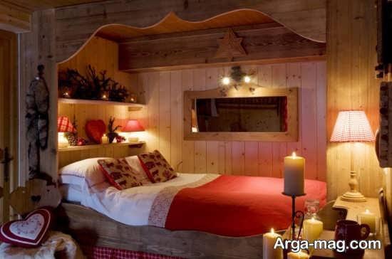 طراحی اتاق خواب عروس