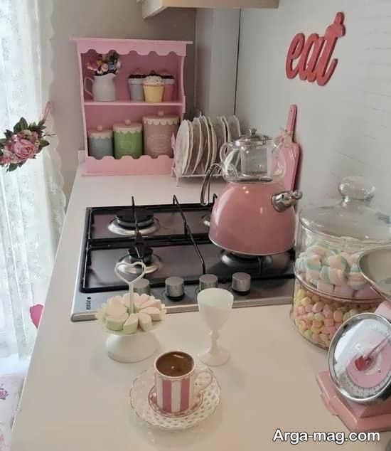 چیدمان آشپزخانه عروس