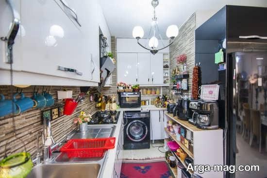 طراحی دکوراسیون آشپزخانه عروس