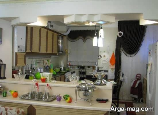 دیزاین داخلی آشپزخانه عروس