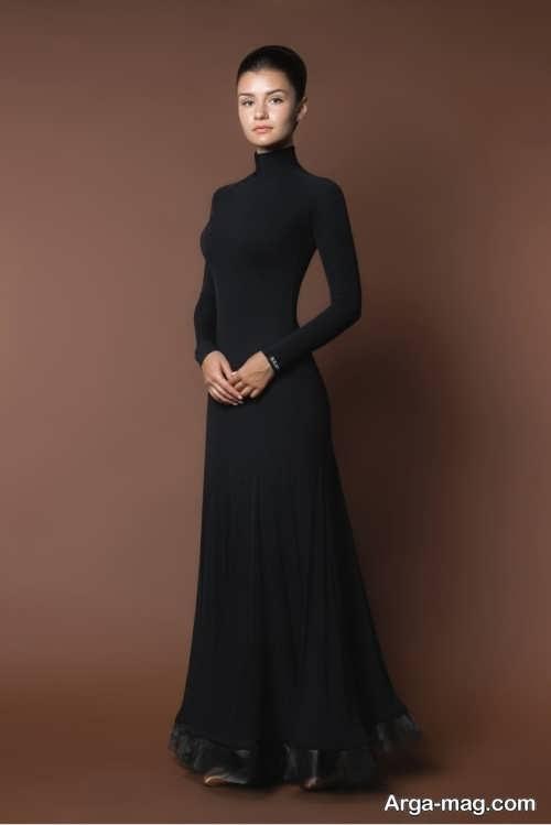 مدل لباس مجلسی مشکی کلاسیک
