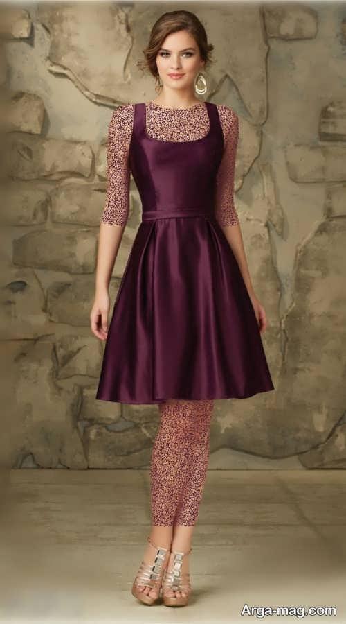 مدل لباس مجلسی شیک و کوتاه