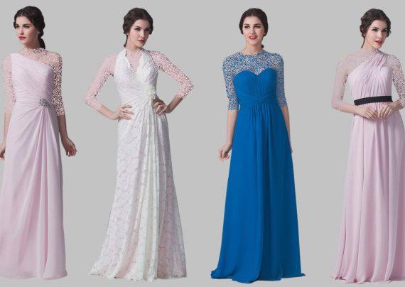 مدل لباس مجلسی کلاسیک