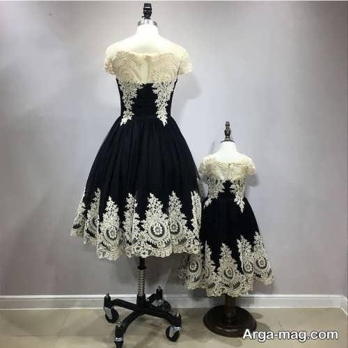 مدل لباس مجلسی طرح دار ست