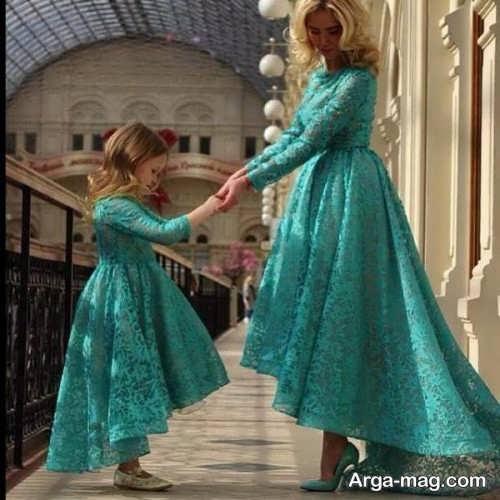 مدل لباس مجلسی گیپور و ست