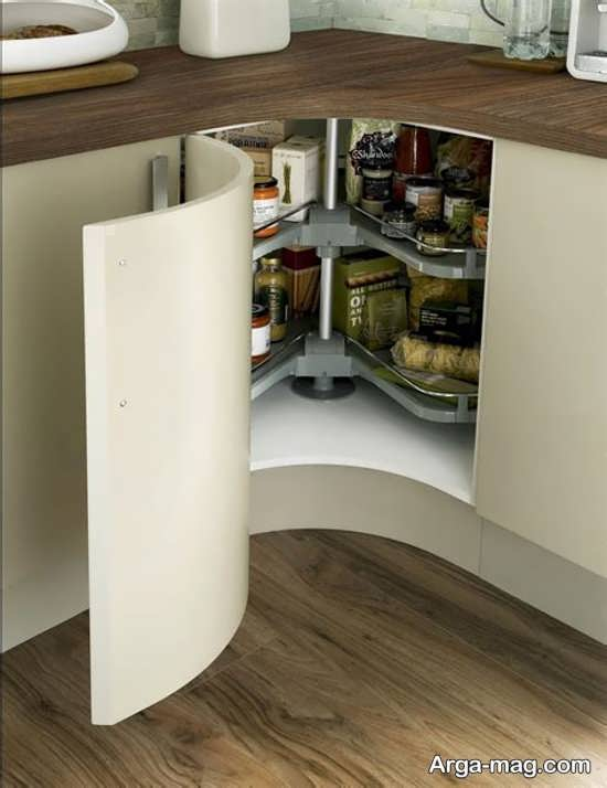 مدل کابینت کنجی اشپزخانه